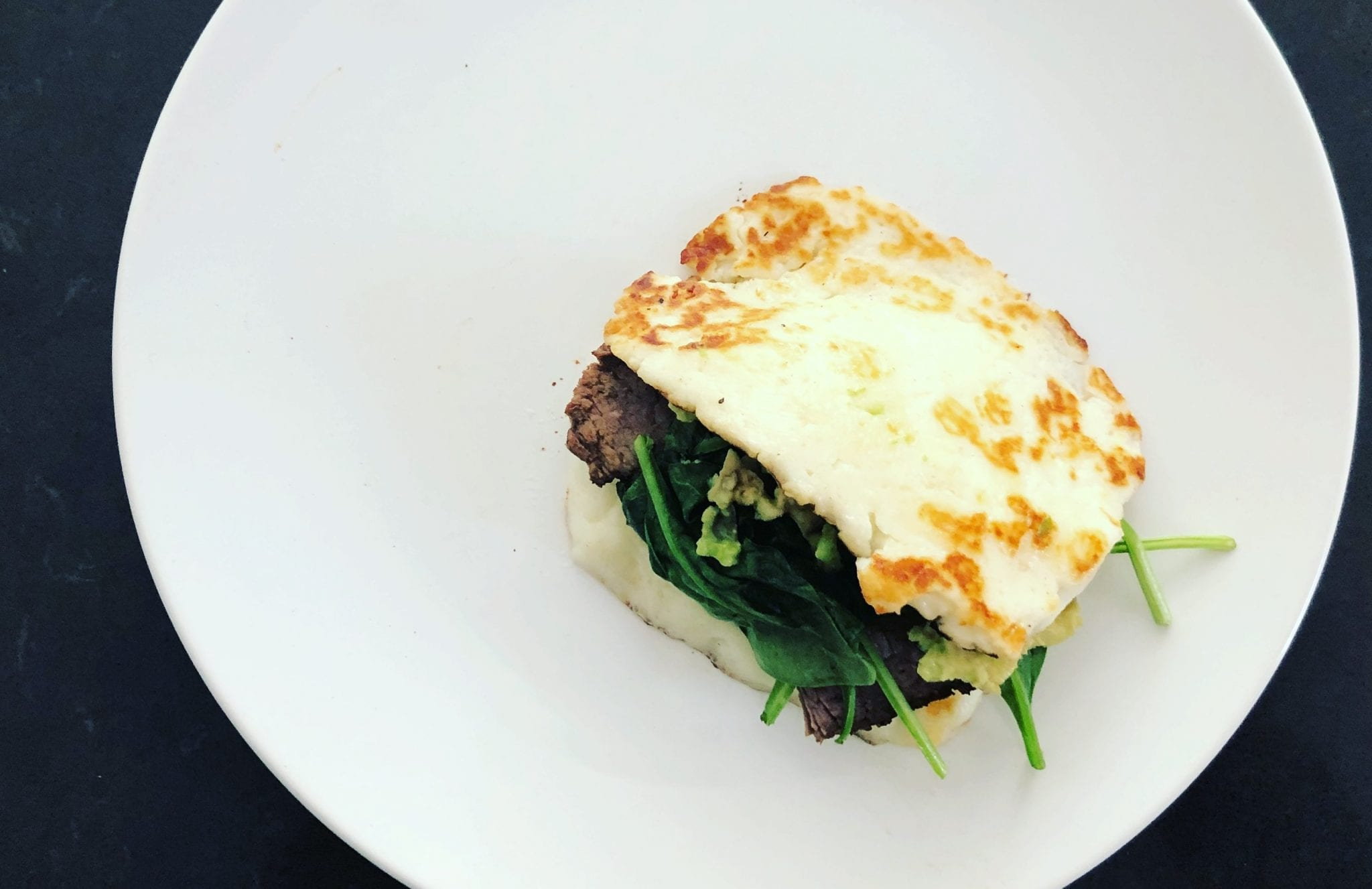 Halloumi Keto Sandwich