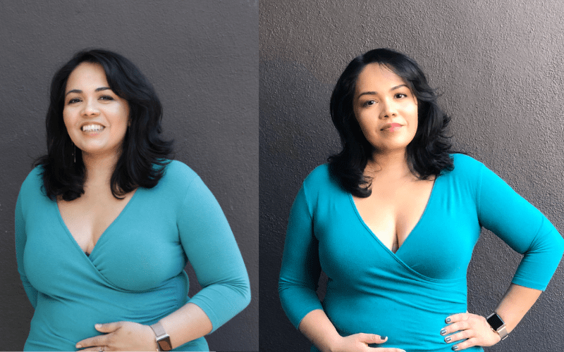 keto success before and after