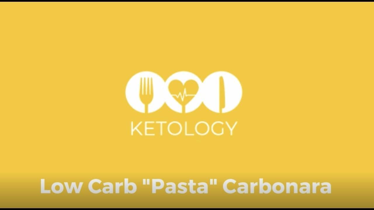 low carb carbonara