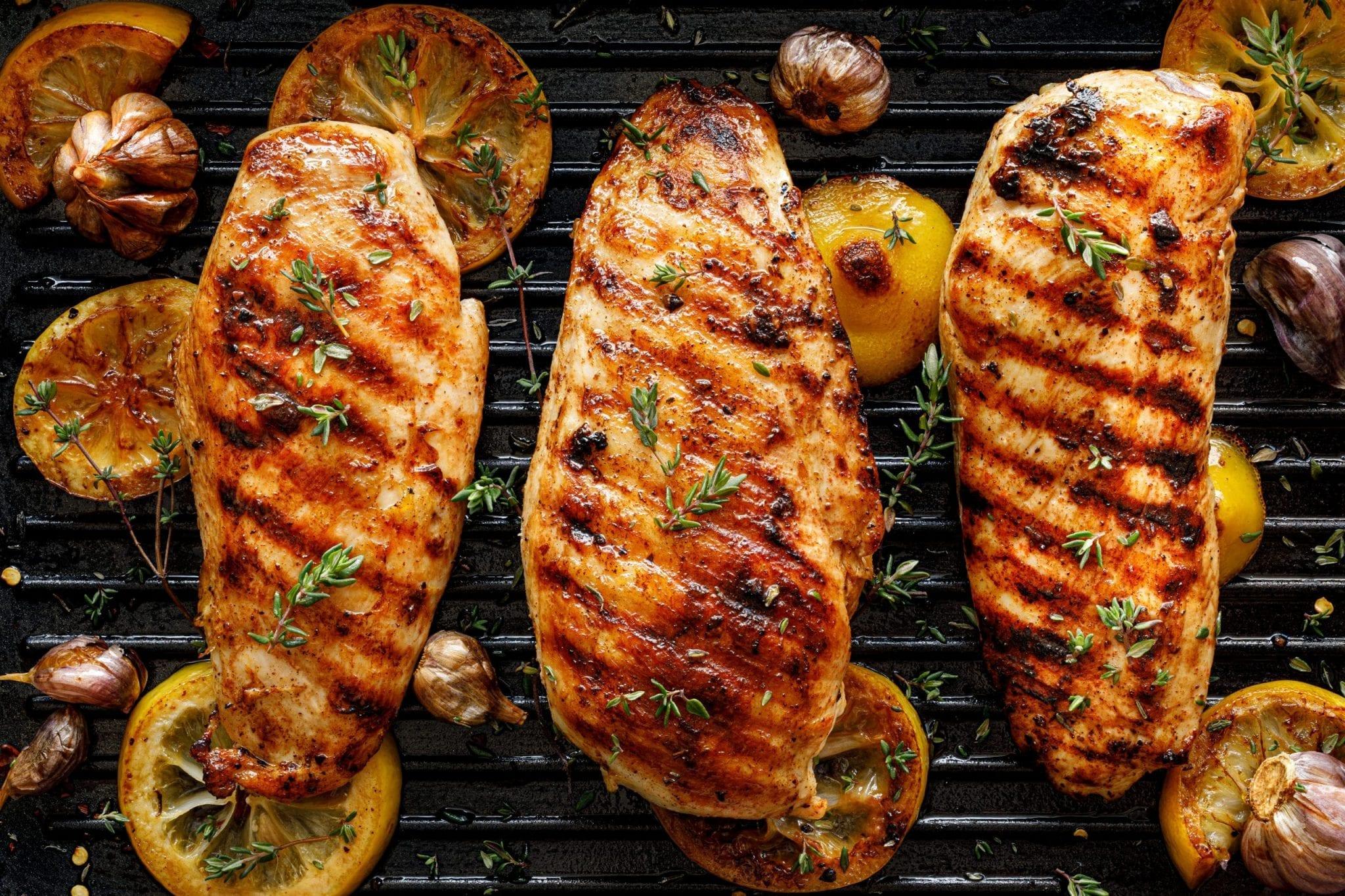 Keto BBQ Grilled Chicken