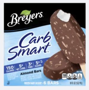 breyers carb smart ice cream bars