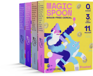 magic spoon low carb cereal