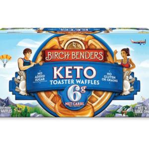 Birch Benders Keto Frozen Toaster Waffles