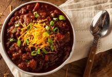 low carb chili recipe