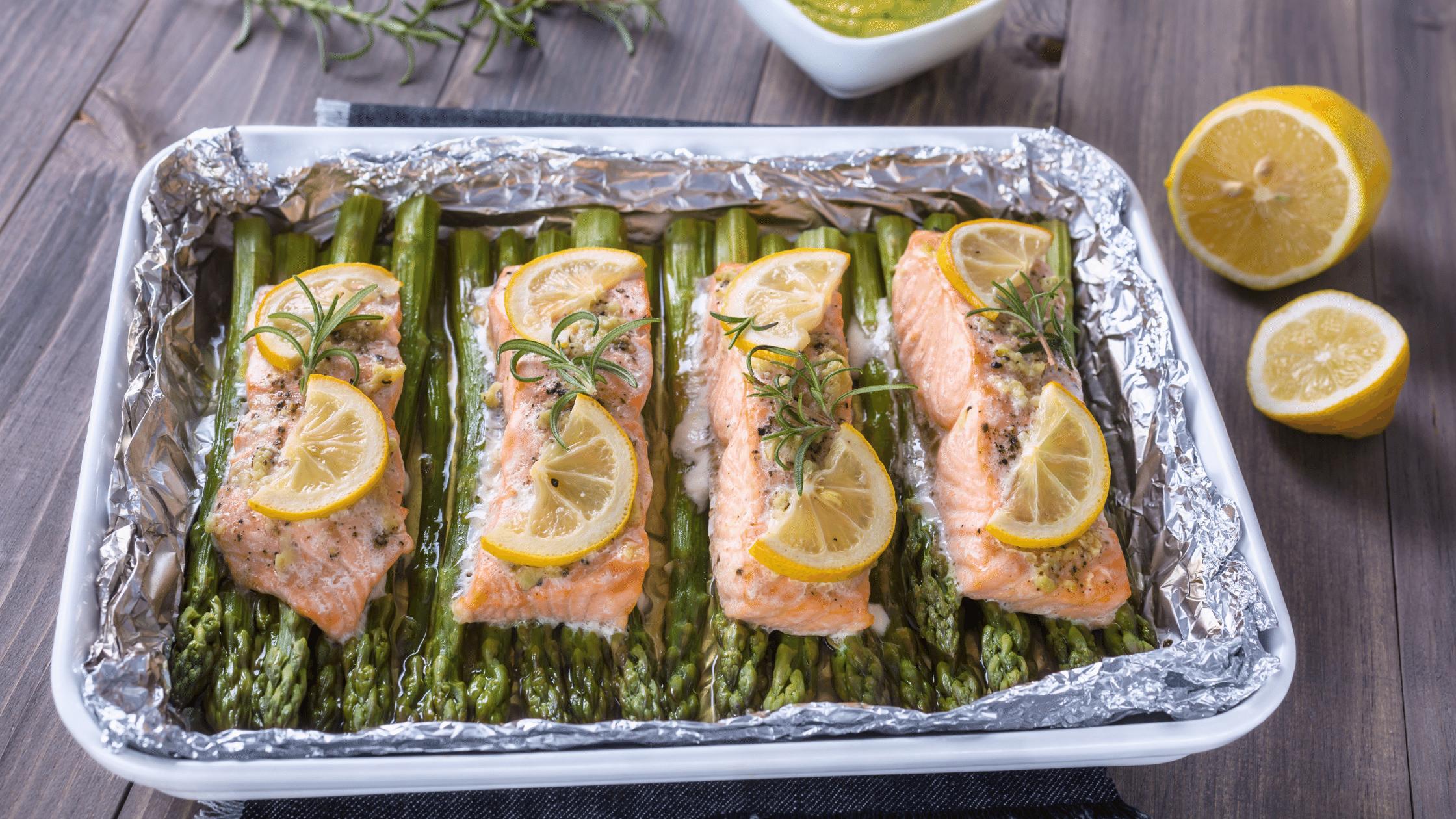Keto Garlic Butter Salmon Recipe