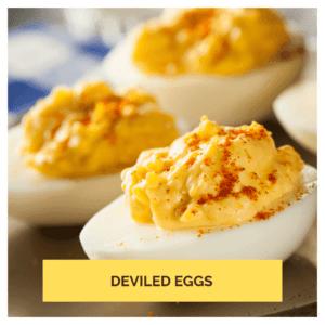 Keto Snack Deviled Eggs