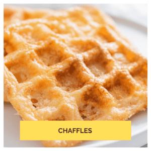 Keto Snack Chaffles