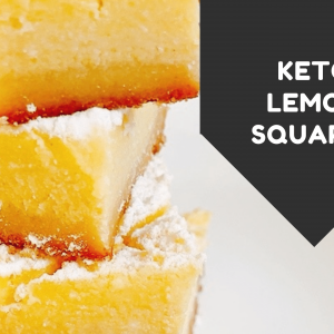 keto lemon squares