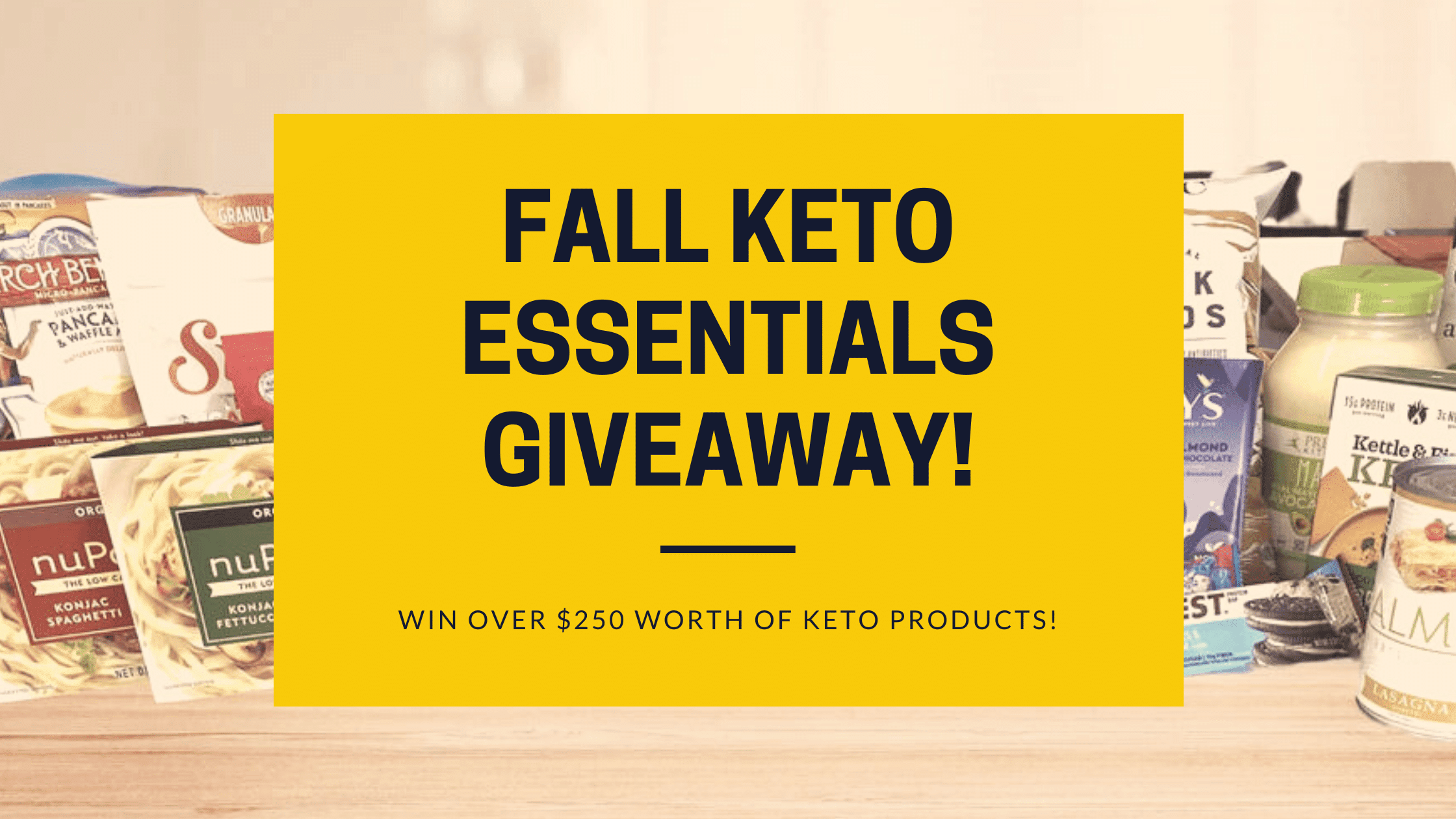 Fall Keto Giveaway